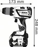 BOSCH GSR 18V-60 C 2x5,0Ah