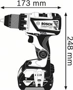 BOSCH GSR 18V-60 C 2x4,0Ah ProCORE