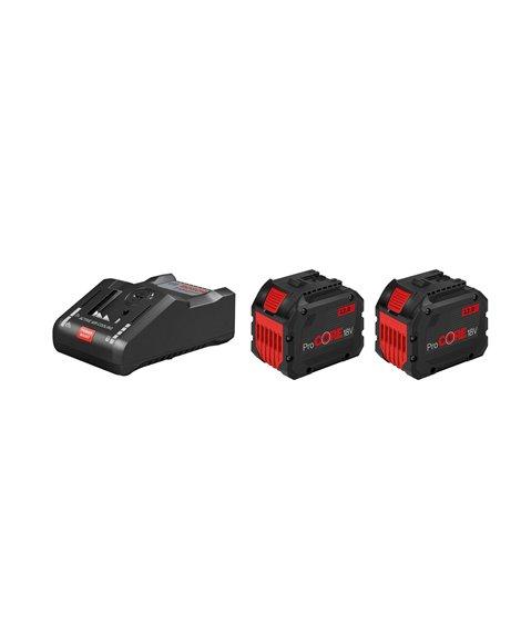 BOSCH Zestaw 2× Akumulator GBA ProCORE 18V 12.0 Ah + Ładowarka GAL 18V-160 C