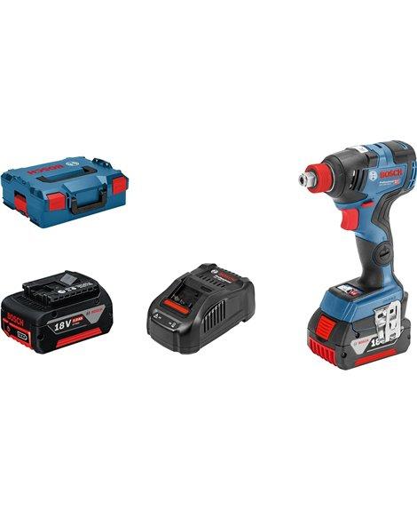 BOSCH Klucz udarowy akumulatorowy GDX 18V-200 C (2x5,0Ah)