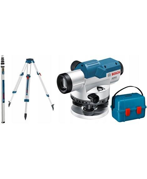 BOSCH Niwelator optyczny GOL 20 G + BT 160 + GR 500
