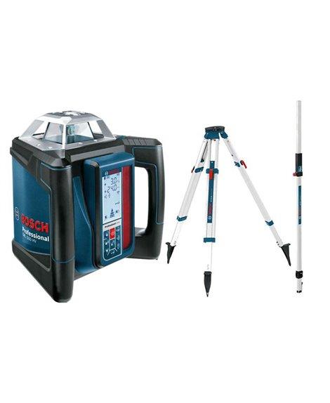 BOSCH Laser rotacyjny GRL 500 HV + LR 50 + BT 170 HD + GR240