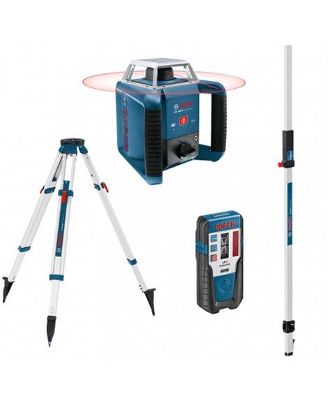 BOSCH Laser obrotowy GRL 400 H + LR 1 + BT 170 + GR 240