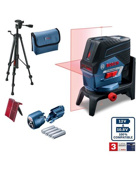 BOSCH Laser liniowo-punktowy GCL 2-50 C + RM 2 + BT 150