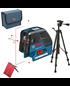 BOSCH Laser liniowo-punktowy GCL 25 + BS 150