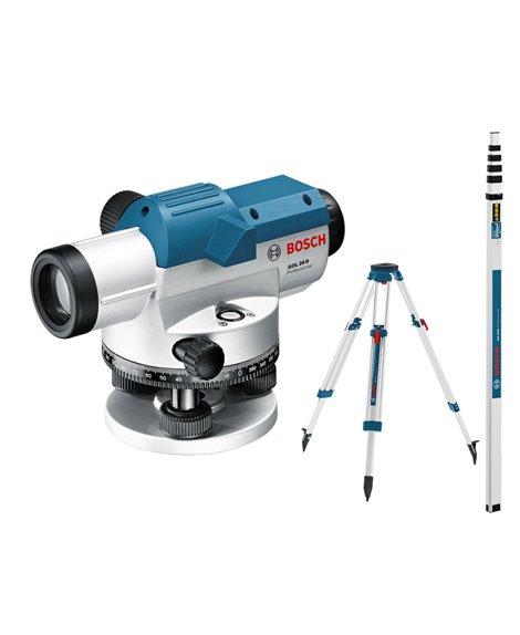 BOSCH Niwelator optyczny GOL 26 D + BT 160 + GR 500