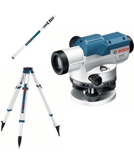 BOSCH Niwelator optyczny GOL 26 G + BT 160 + GR 500