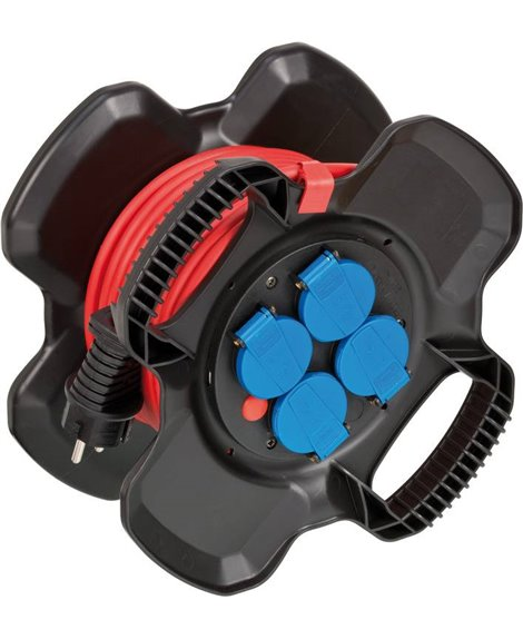 BRENNENSTUHL Przedłużacz na gumowym bębnie X-Gum IP44 15m N05V3V3-F3G1,5