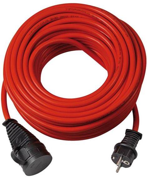 BRENNENSTUHL Kabel przedłużający BREMAXX IP 44 czerwony 25m AT-N05V3V3-F3G1,5