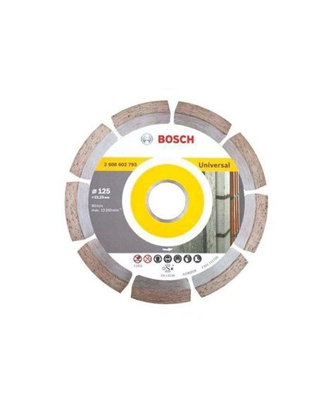 BOSCH Tarcza diamentowa 125 mm 22,23 mm universal
