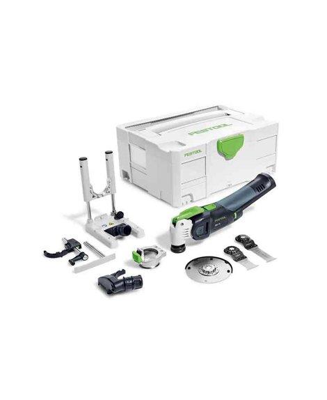 FESTOOL Narzędzie wielofunkcyjne akumulatorowe OSC 18 Li 3,1 E Basic-Set (solo)