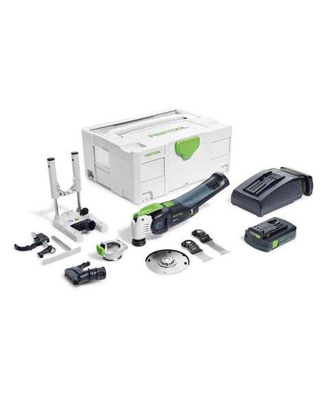 FESTOOL Narzędzie wielofunkcyjne akumulatorowe OSC 18 Li E-Set