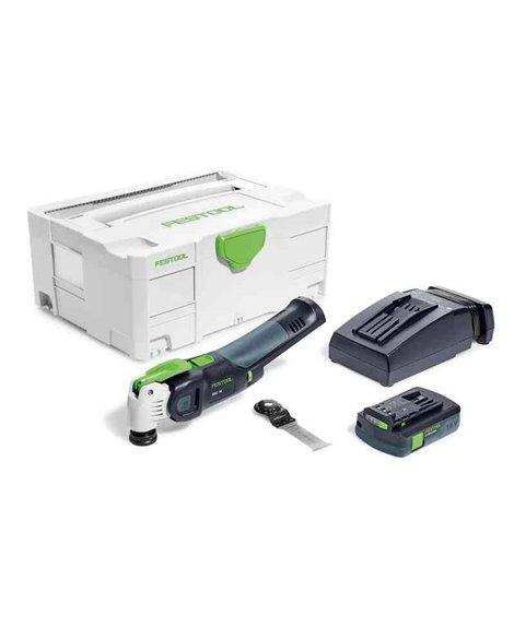 FESTOOL Narzędzie wielofunkcyjne akumulatorowe OSC 18 Li 3,1 E-Compact