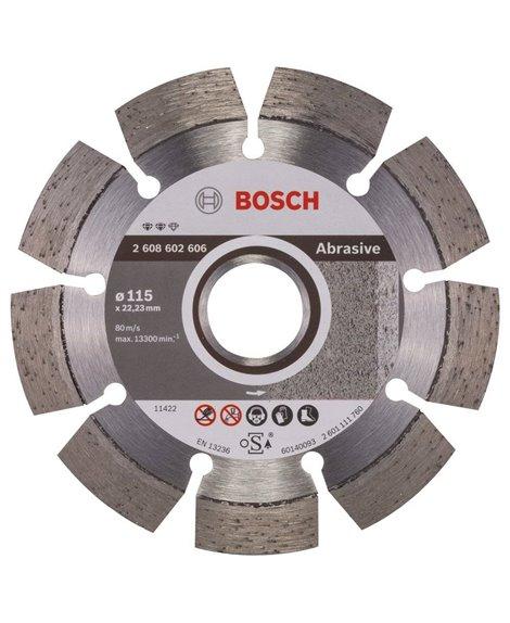 BOSCH Tarcza diamentowa 115 x 22,23 mm Expert for Abrasive