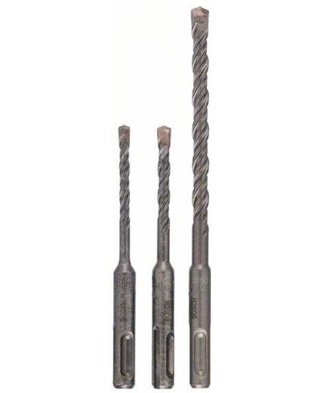 BOSCH 3-częściowy zestaw wierteł do młotów SDS plus-5  Ø 5,6,8 x 115mm