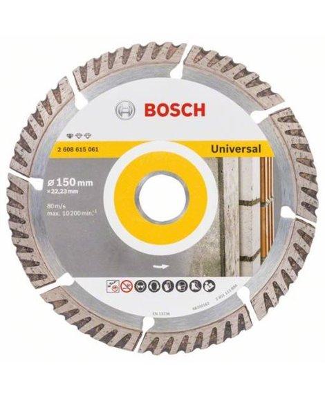 BOSCH Tarcza diamentowa 150 x 22,23 mm Standard for Universal