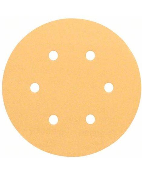 BOSCH 50x Papier ścierny C470 P180 150 mm, 180 Best for Wood and Paint