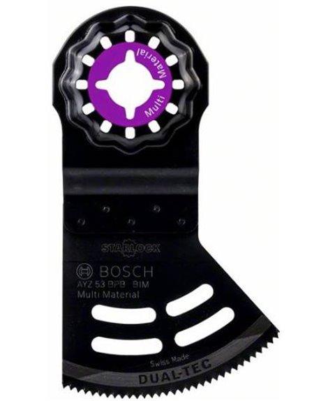 BOSCH Brzeszczot AYZ 53 BPB Dual-Tec 53 x 40 mm do narzędzi wielofunkcyjnych
