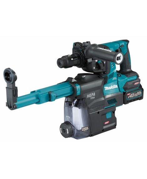 MAKITA Młotowiertarka akumulatorowa XGT HR004GM202 SDS-PLUS