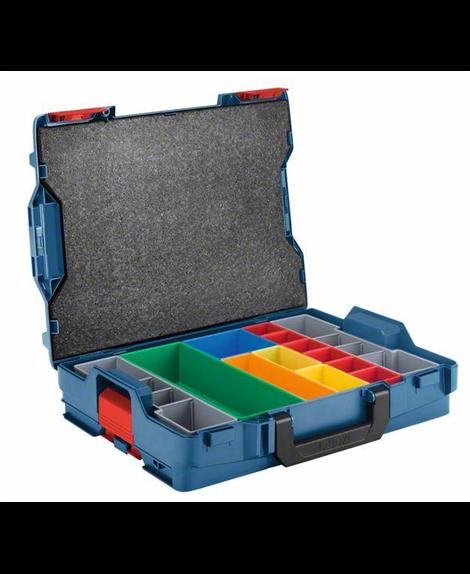 BOSCH L-BOXX 102, zestaw pojemników Inset Box 13 szt.