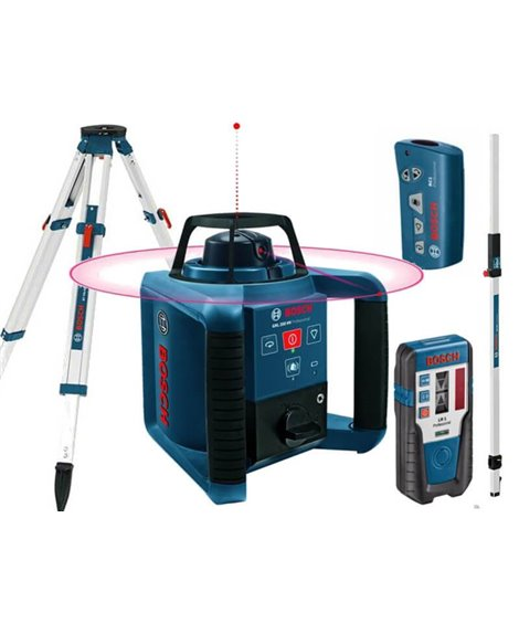 BOSCH GRL250 HV SET( GR 240, BT 170 HD, RC1,LR1)