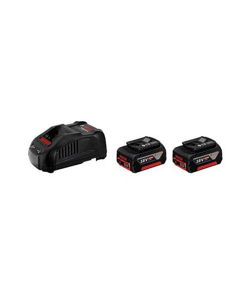 BOSCH Zestaw 2x Akumulator GBA 18V 6,0Ah + Ładowarka GAL 1880 CV