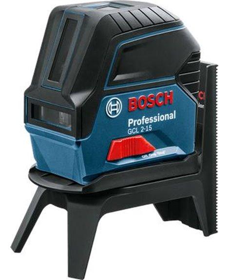 BOSCH Laser krzyżowo-punktowy GCL 2-15 + RM 1