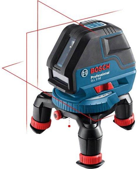 BOSCH Laser liniowy GLL 3-50 P w L-BOXX