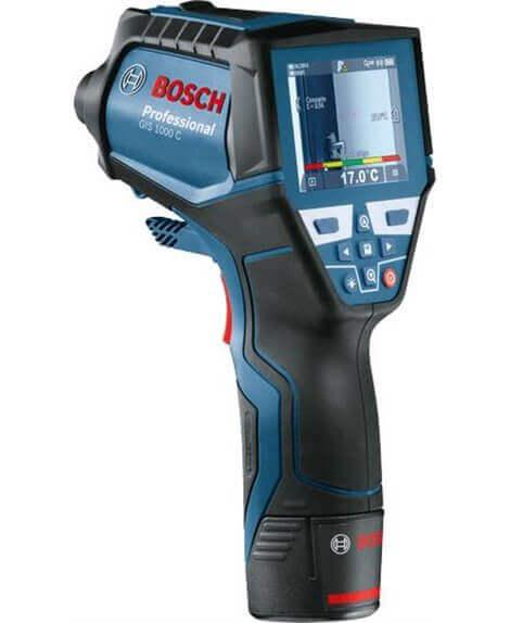 BOSCH Termo-detektor GIS 1000 C w walizce L-BOXX z kartą Quickstart