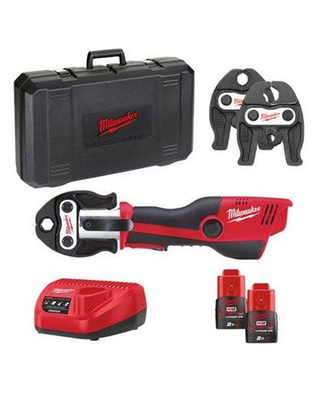 MILWAUKEE M12 HPT-202C Zaciskarka V-SET