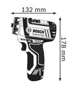 BOSCH GSR 12V-15 FC Set