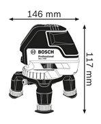 BOSCH GLL 3-50 P + BM1 + LR2 + L-Boxx